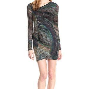 TRINA TURK Sexy Bodycon dress full sleeves XS